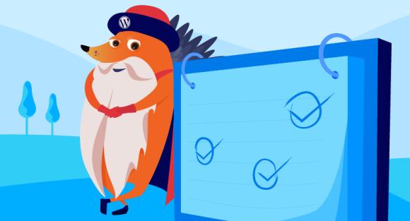 Gutenberg hedgehog with checklist
