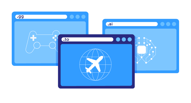 Airline website graphic