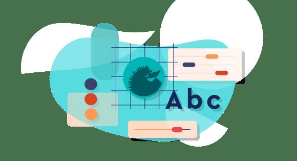 logo design process graphic