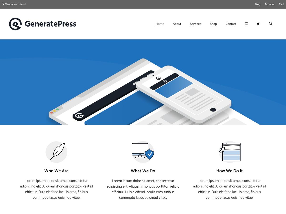 GeneratePress Premium Review - Namecheap Blog