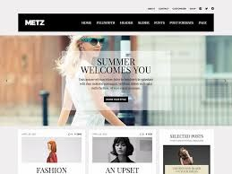 Metz WordPress magazine theme