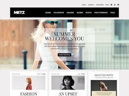 Metz WordPress magazine theme