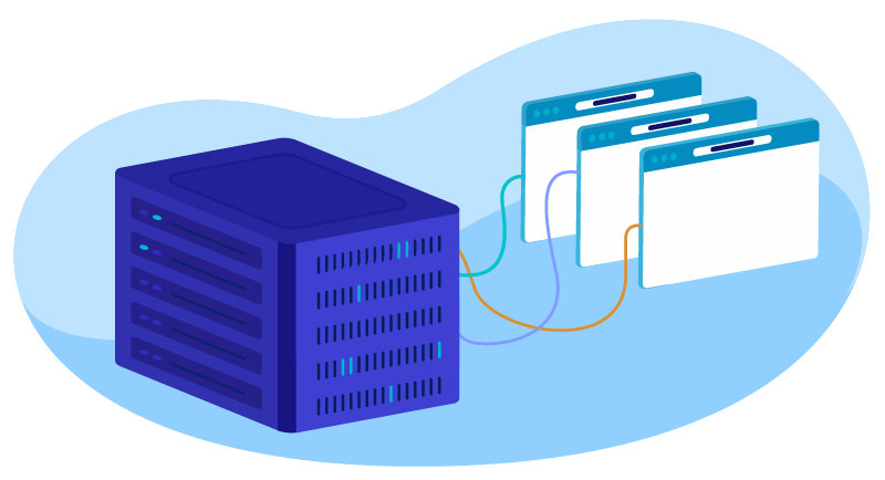 shared hosting server