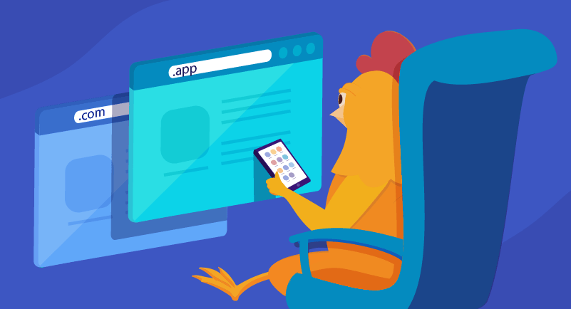 Hero image of Domain Names for App Makers