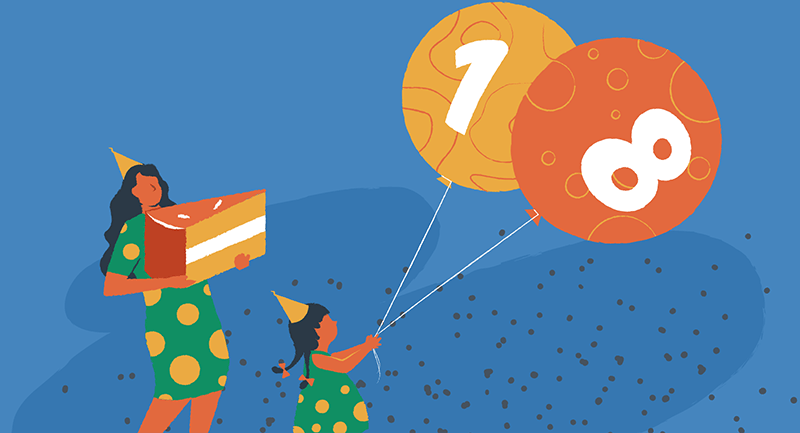 Hero image of 18 amazing facts about WordPress as it turns 18