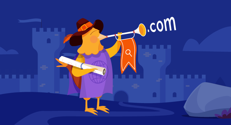 Hero article of How to find a memorable domain name
