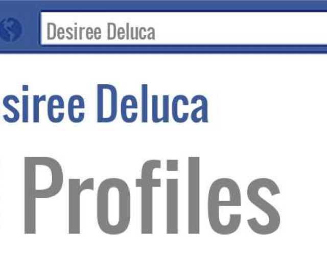 Desiree Deluca Facebook Profiles