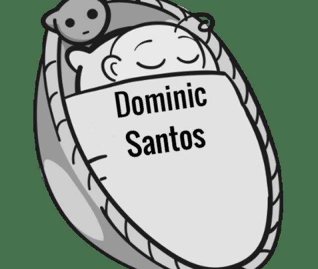 Dominic Santos Sleeping Baby