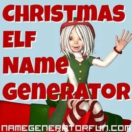 the christmas elf name
