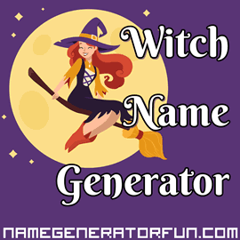 magical witch name generator
