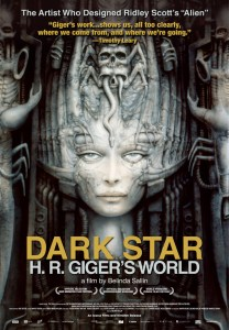 Poster for DARK STAR: H. R. GIGER'S WORLD