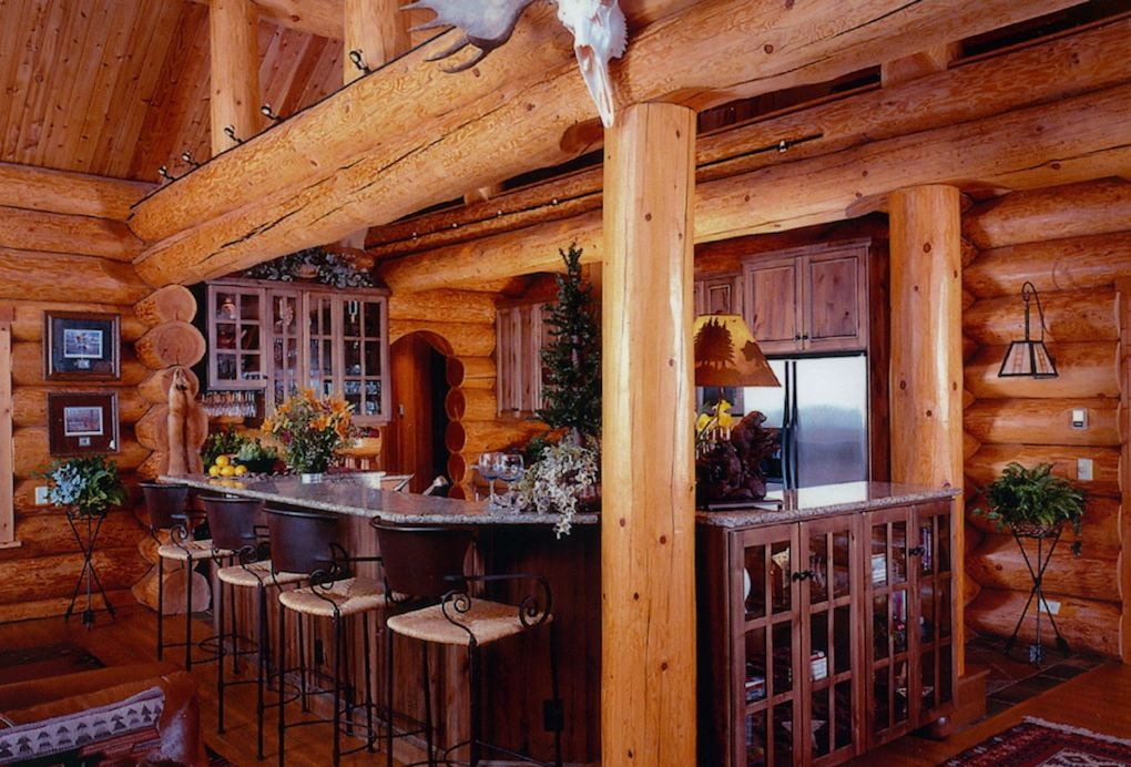 Log Home Photo Gallery  North American Log Crafters  Canada  USA
