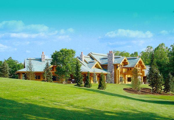 Classic Full Log Homes Cabin Builders Custom