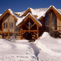 Timber Frame Styles Traditional Log