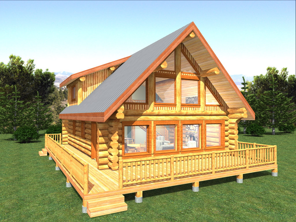 Different Electrical Wiring Log Home Package Copper Island Plans Designs