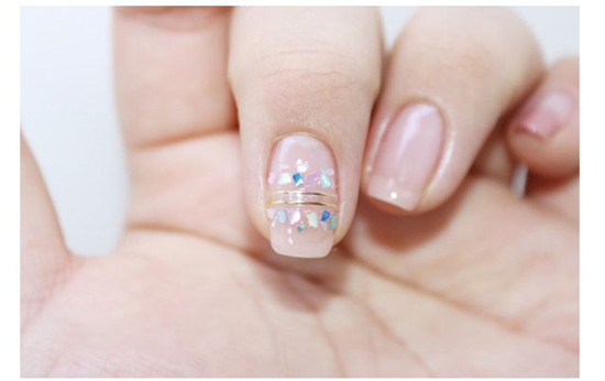 How to make leopard print nails