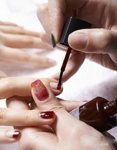 How to make double color nails