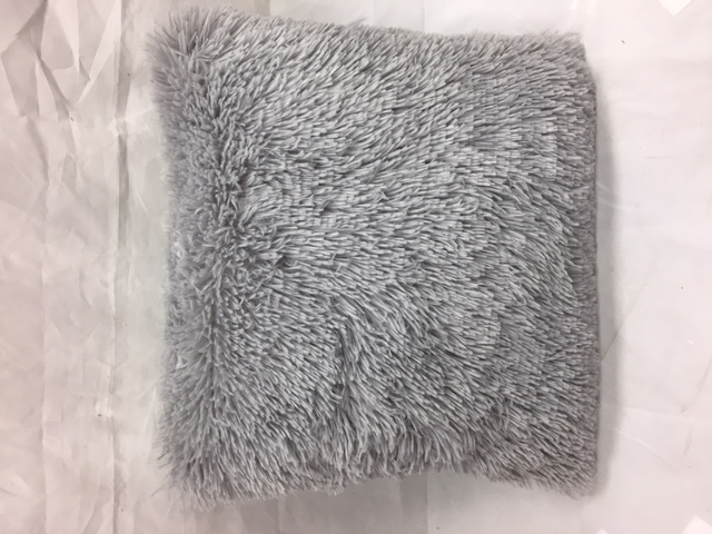 furry pillow case with pillow choose a color