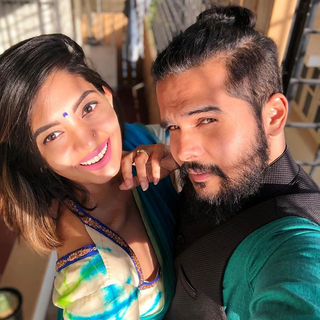 Disha Madan with her husband Shashank Vasuki Gopal