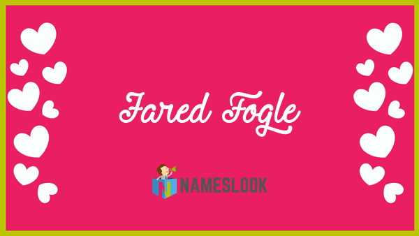 jared fogle meaning pronunciation