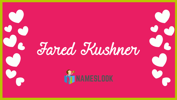jared kushner meaning pronunciation