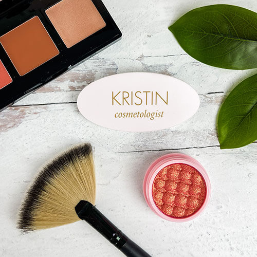 custom cosmetologist name badge