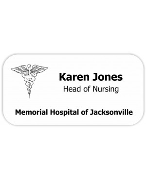 Doctor Name Tags, Medical Badges for Nurse and Hospital