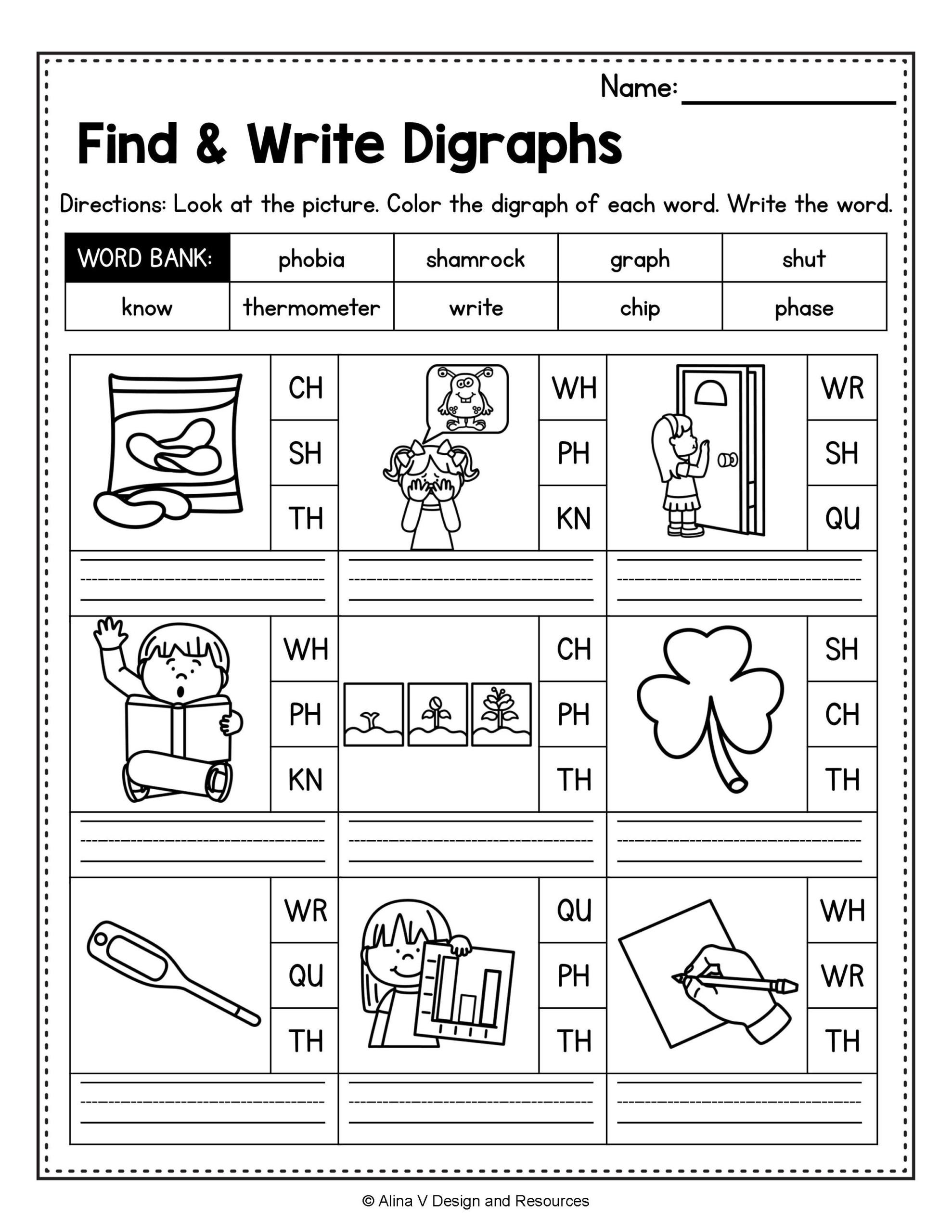 Sh Tracing Writing Worksheets Free