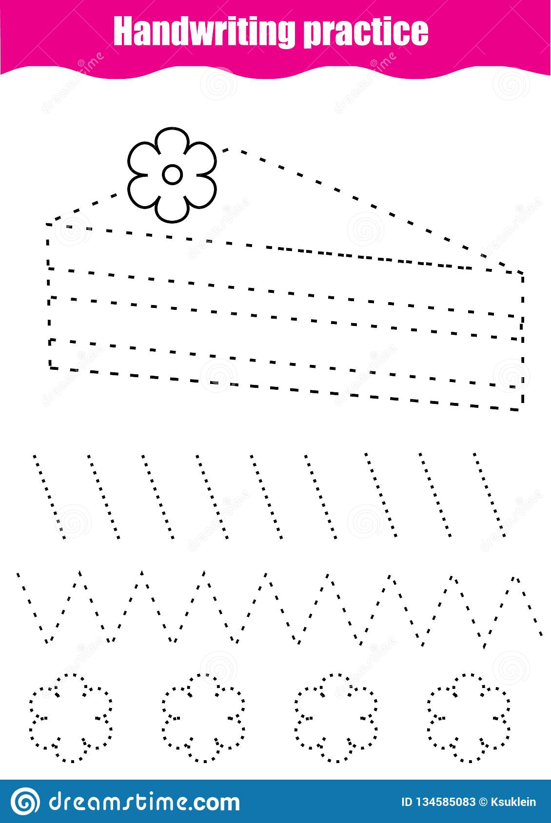 Easy Line Tracing Worksheets