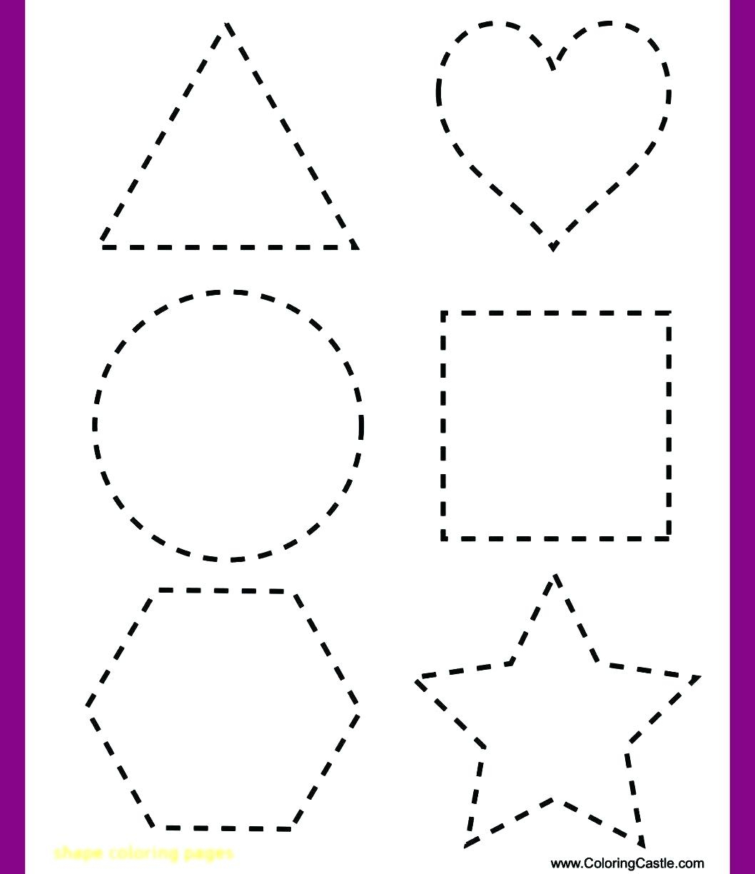 Heart Tracing Worksheet Free