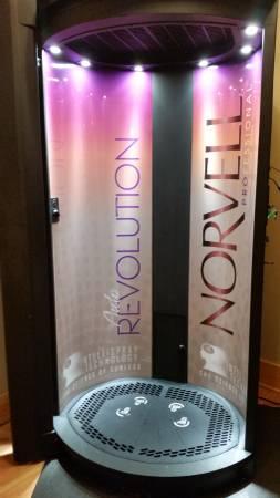 2013 Norvell Auto Revolution Spray Tanning BoothSOLD
