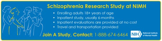 Ad: Schizophrenia research study at NIMH