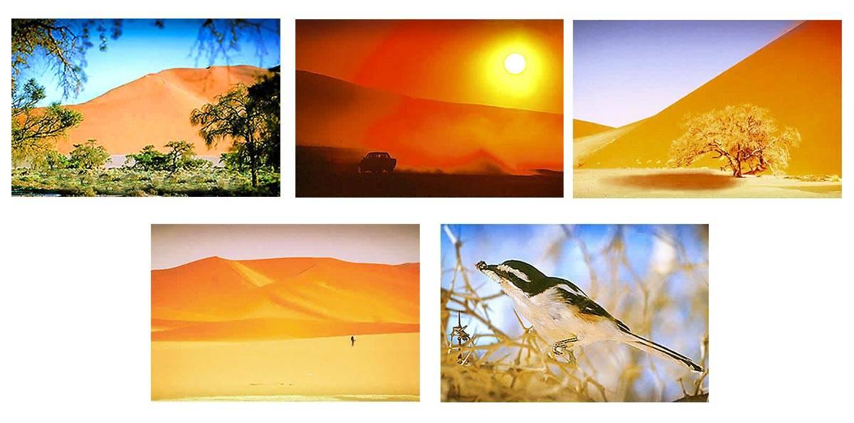 Dunes Sesriem Sossusvlei en Namibie Namibia