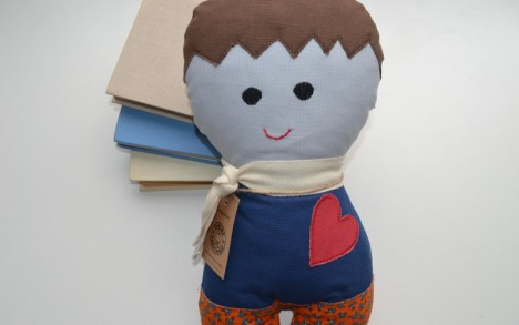 Svajukas - minkštas rankų darbo žaislas - pagalvėlė