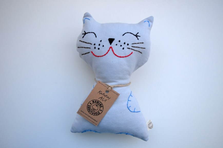 Siuvinėtas žaislas Kačiukas AU