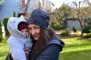 Patogi kepurė su drugeliais mamai ir vaikui