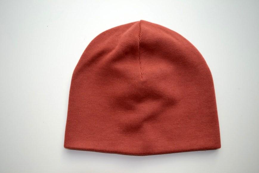 Dviguba kepurė rudeniui