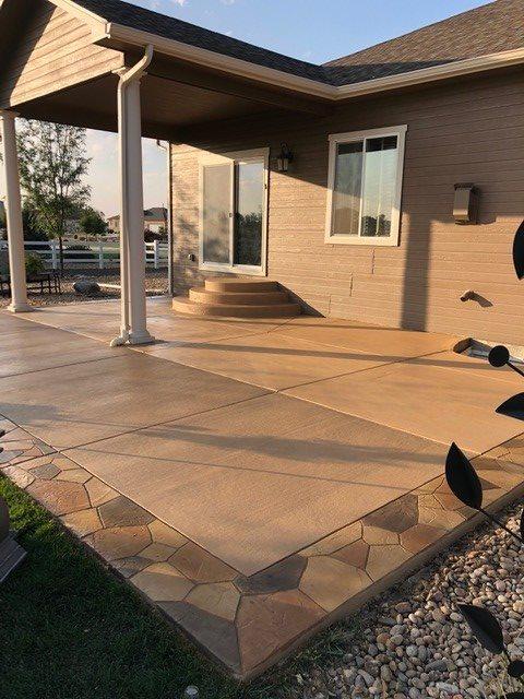 concrete patio contractors nampa idaho