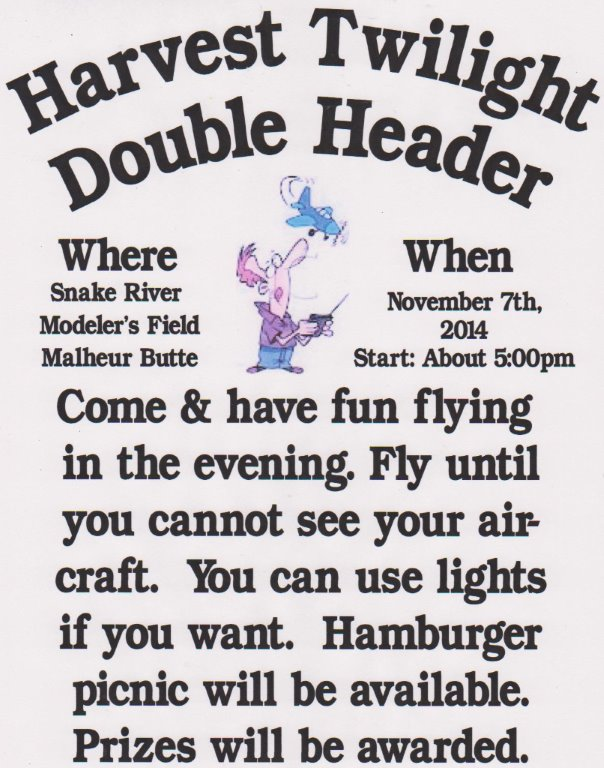 Snake River Modelers Twilight Poster