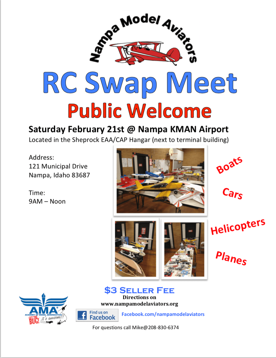 NMA Swap Meet 2014