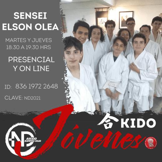 Clases de Aikido para Jóvenes, Nampou Dojo Las Condes Chile