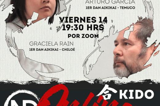 Aikido Nampou Dojo Las Condes Chile, Graciela Rain y Arturo García
