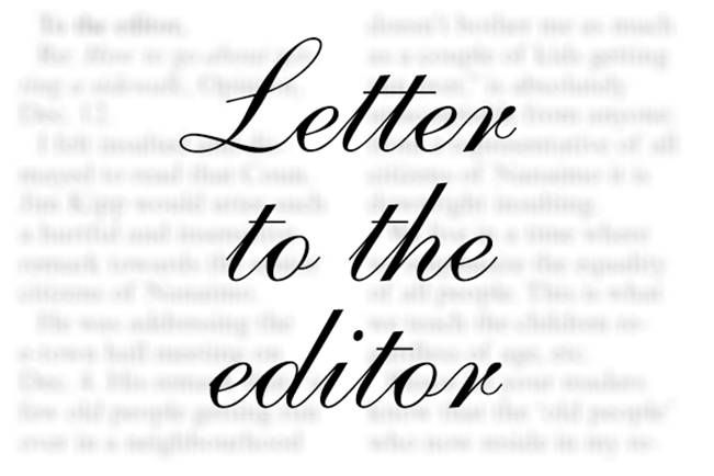 LETTER TO THE EDITOR: Justice system makes too many