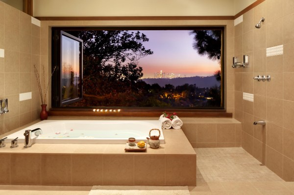 Master Bathroom with Window