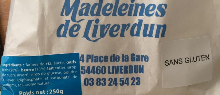 Les meilleures madeleines du commerce sont celles de Liverdun!