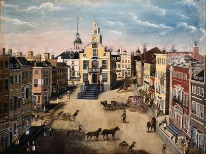 Boston in early 1800s