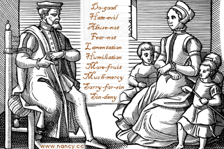 puritan baby names