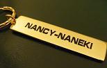 nancy - naneki keychain