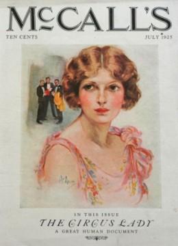 Irma Lee, McCalls, 1925
