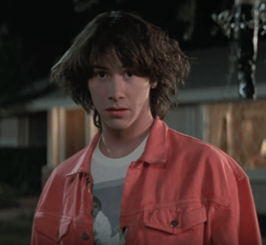 keanu reeves, bill and ted, movie,
